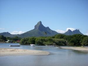 Mauritius mountains