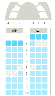 pre booked flight seats