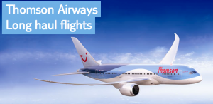 Thomson Dreamliner Destinations