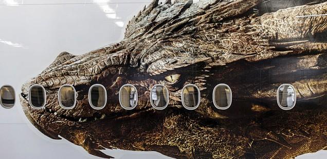 Smaug Flying Dragon